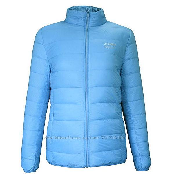 Фирменный женский демисезонный пуховик куртка lee cooper оригинал
