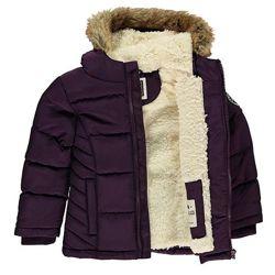 Очень теплая зимняя детская куртка парка пуховик Soulcal&Co Качество Люкс