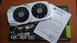 ASUS GTX 1060 - 3Gb бу на гарантии