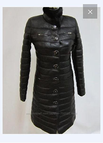 Пальто френч натуральная кожа