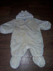 Комбинезон деми плюшевый медвеженок на малыша