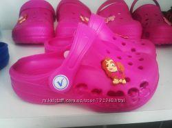 Детские кроксы на девочку с 20-31 размер