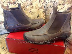Оригинал ECCO ботинки натуральная кожа