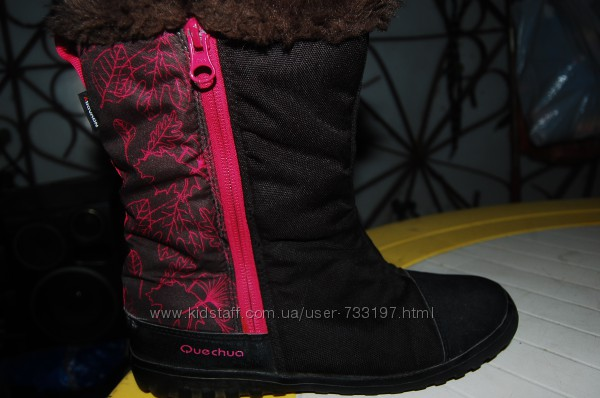 quechua зимние ботинки 35 размер