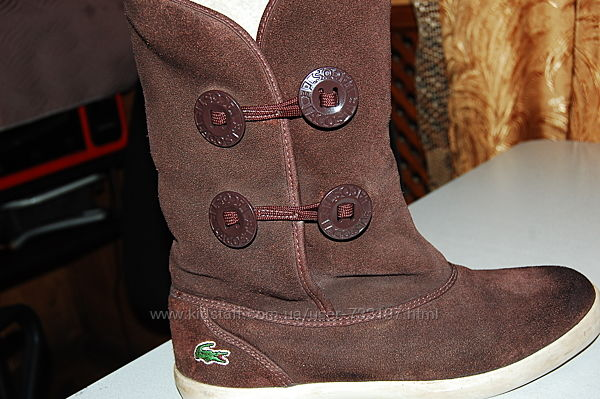 зимние ботинки lacosta 38 размер