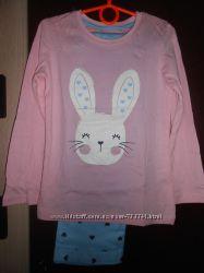Хлопковые пижамы Primark 98 см, 2-3 года девочке