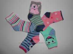 Носки малышам 0-6, 6-12, 12-24 мес, 0, 5-1-2 года Primark носочки комплект