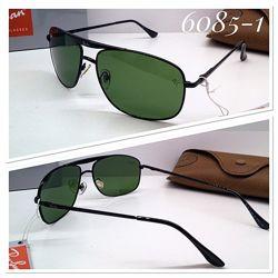 Очки солнцезащитные  Ray ban стеклянные линзы