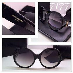 Женские солнцезащитные очки YSL оригинал в полной комплектации