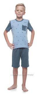 Піжама для хлопчика на літо р. 110-134,152,158 Розпродаж