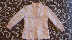 Шикарная демисезонная нарядная куртка Geox на 24 мес одета 2 раза