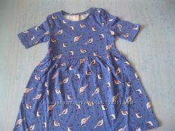 Платье в птичках 4т  Джимборри