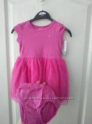 платье  с трусиками картерс 18 и 24 мес  Carters