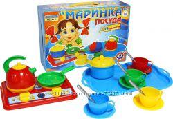 Набор посуды Маринка Технок 1554, Набор ТехноК 4463, Кухня 1 ТехноК 1912