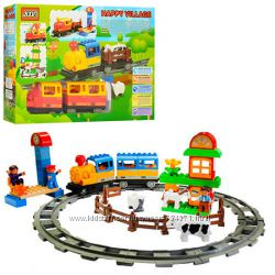 Конструктор JIXIN 6188 C Железная дорога, 6188C, Конструктор JIXIN 6188A