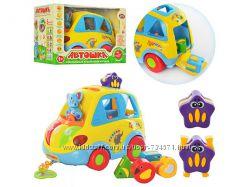 Развивающая игрушка Автошка 9198 Joy Toy, Музыкальный Горшочек 2056, 0915