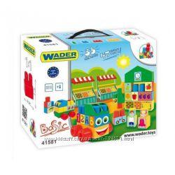 Конструктор Middle Blocks 33 элемента Wader Тигрес 41581