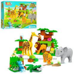 Конструктор JDLT 5286, 5285, 5288, 5289, 5089, 5088, 5032, 5085 Зоопарк