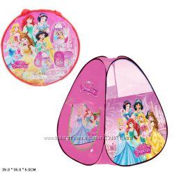 Палатка детская Пони 8099, Принцессы 8008, Домик M 3365, Принцессы 8099