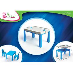 Стол детский комплект для игры аэрохоккей 04580