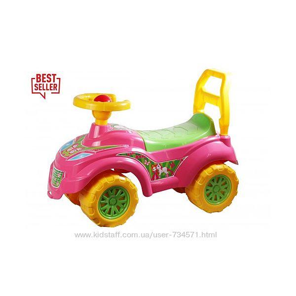 Машинка для катания Спайдер 3077 Технок, Принцесса Технок 0793
