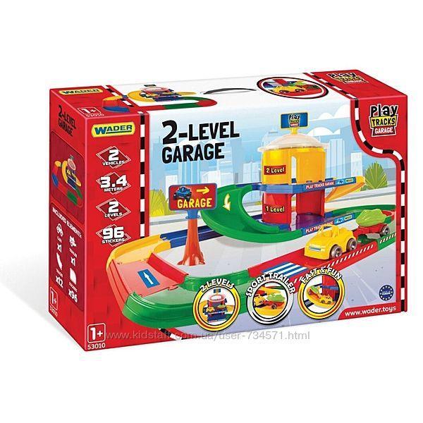 Гараж 53010 Wader 2 уровня Play Tracks Garage