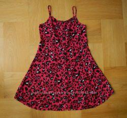 146-152 см Young Dimension яркий сарафан платье. Длина - 75 см, г