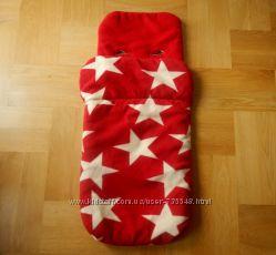 John Lewis супертеплый конверт чехол на ножки в коляску спальный мешок