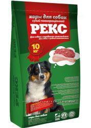 Сухой корм O. L. KAR Рекс для собак средней активности 10 кг
