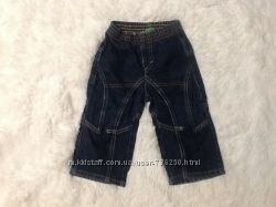 Стильные джинсы 12 мес 74 см United colors of Benetton.