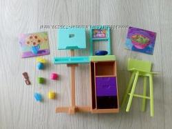 Кукольный набор мебель аксессуары карьера Барби Barbie Студия художника.