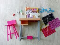 Кукольный набор мебель аксессуары Барби Barbie You can be Швея маттел