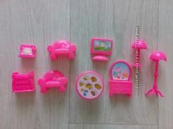 Мебель малиновая для Лол сестричка lol sister и других маленьких кукол.