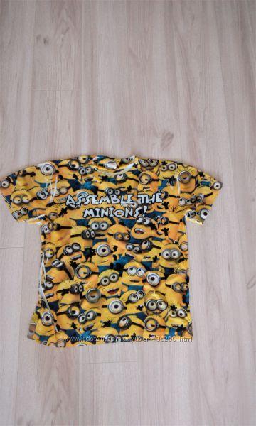 футболка с миньонами