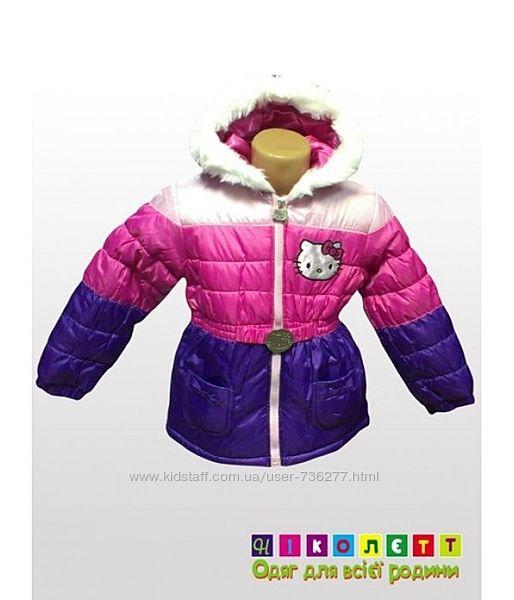 Куртка на девочку зимняя HELLO KITTY