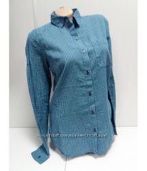 Рубашка женская, в клетку, длинный рукав, classic OLDNAVY
