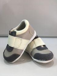 Кроссовки, кожаные, на липучке, Teco Teco