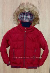 Отличная зимняя куртка Debenhams , рост 116 см5-6 лет.