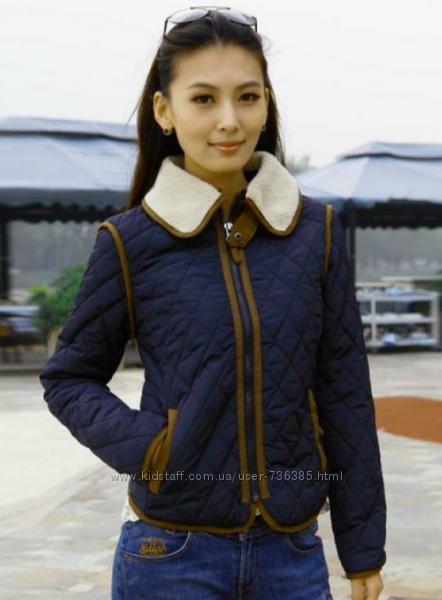 Женская утепленная куртка Zara, размер М.