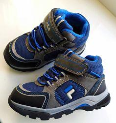 Демисезонные термо ботинки Fila, 25 размер .