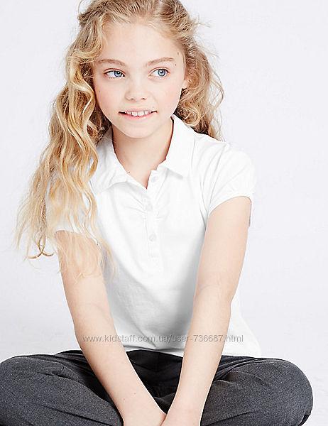 Блуза поло для девочки Marks&Spencer 8 - 9 лет