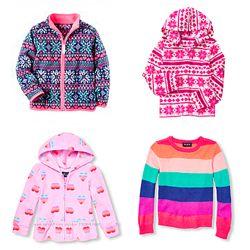 Флиски кофты для девочек Carters НМ Crazy 8 Childrens place от 4 до 10 лет