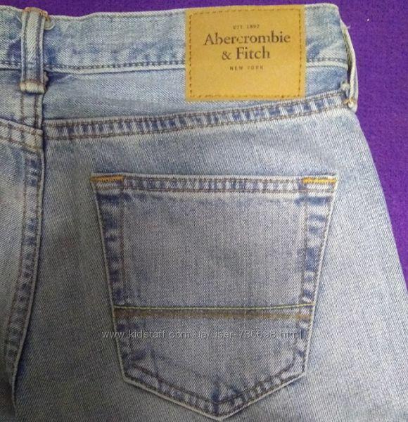 Джинсы Abercrombie & Fitch, сша, размер 30Х34 новые