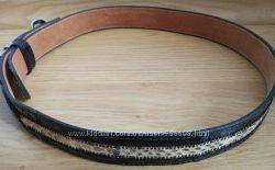Ремень пояс Brazos Joe Belts змеиная кожа 100