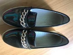 Туфли школа 35 размер  21,8 см стелька
