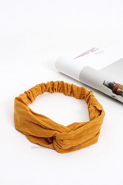 Стильные повязки тюрбаны трикотаж