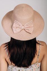 Шляпка слауч с бантом, расцветки