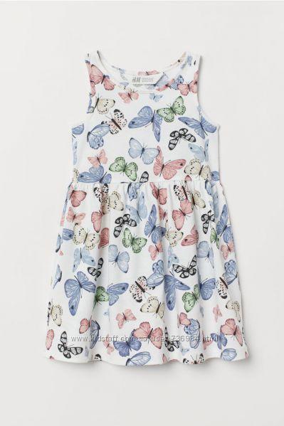 Платья H&M разные расцветки и размеры, хлопок