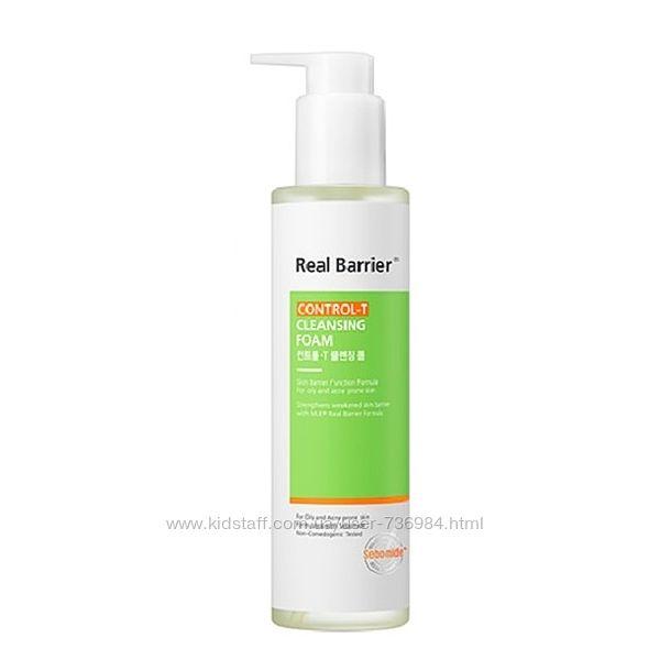 Очищающая пенка для жирной кожи Real Barrier Control-T Cleansing Foam