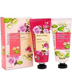 Набор кремов для рук Farmstay Pink Flower Blooming Hand Cream